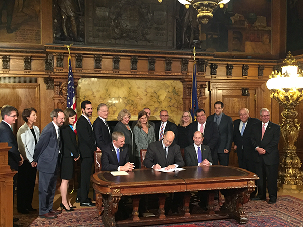 Signing HB2109 on Nov 11, 2016