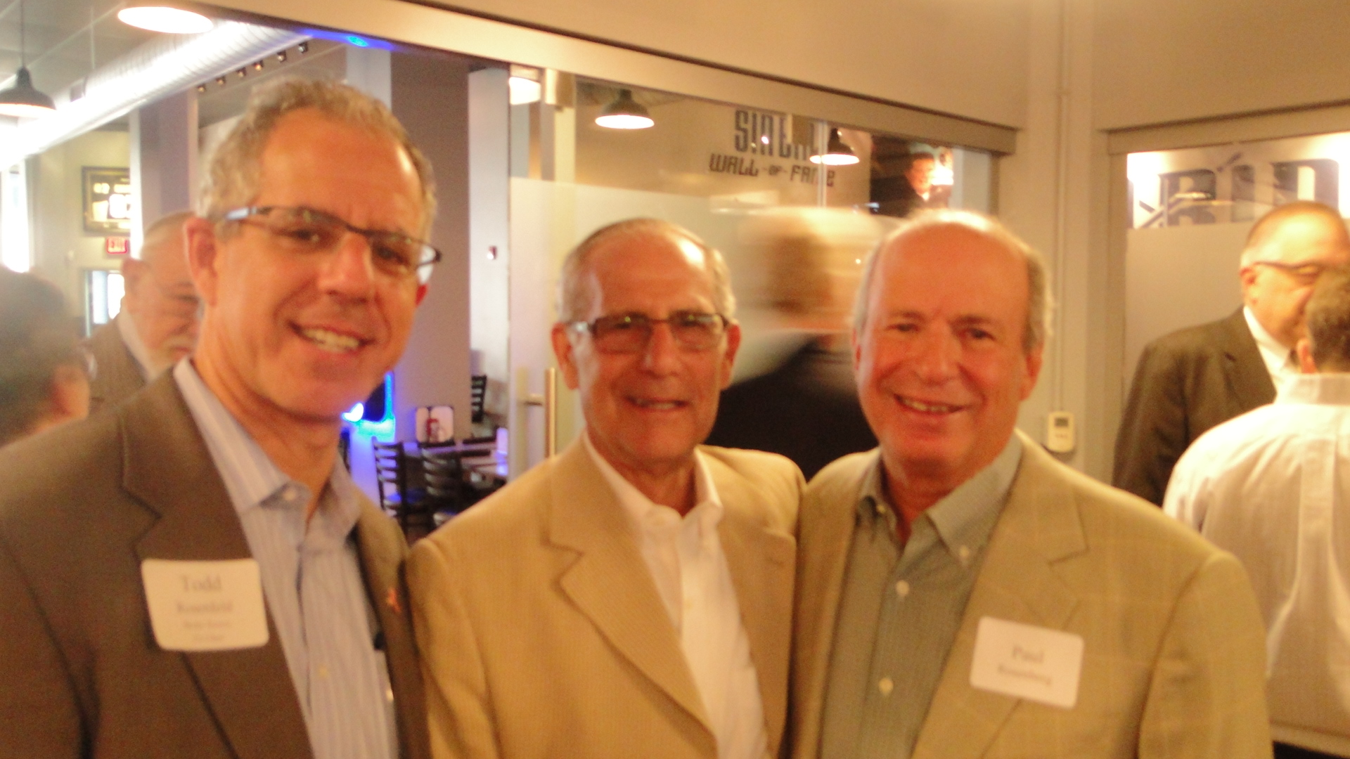 Todd Rosenfeld, David Steinbach, and Paul Rosenberg