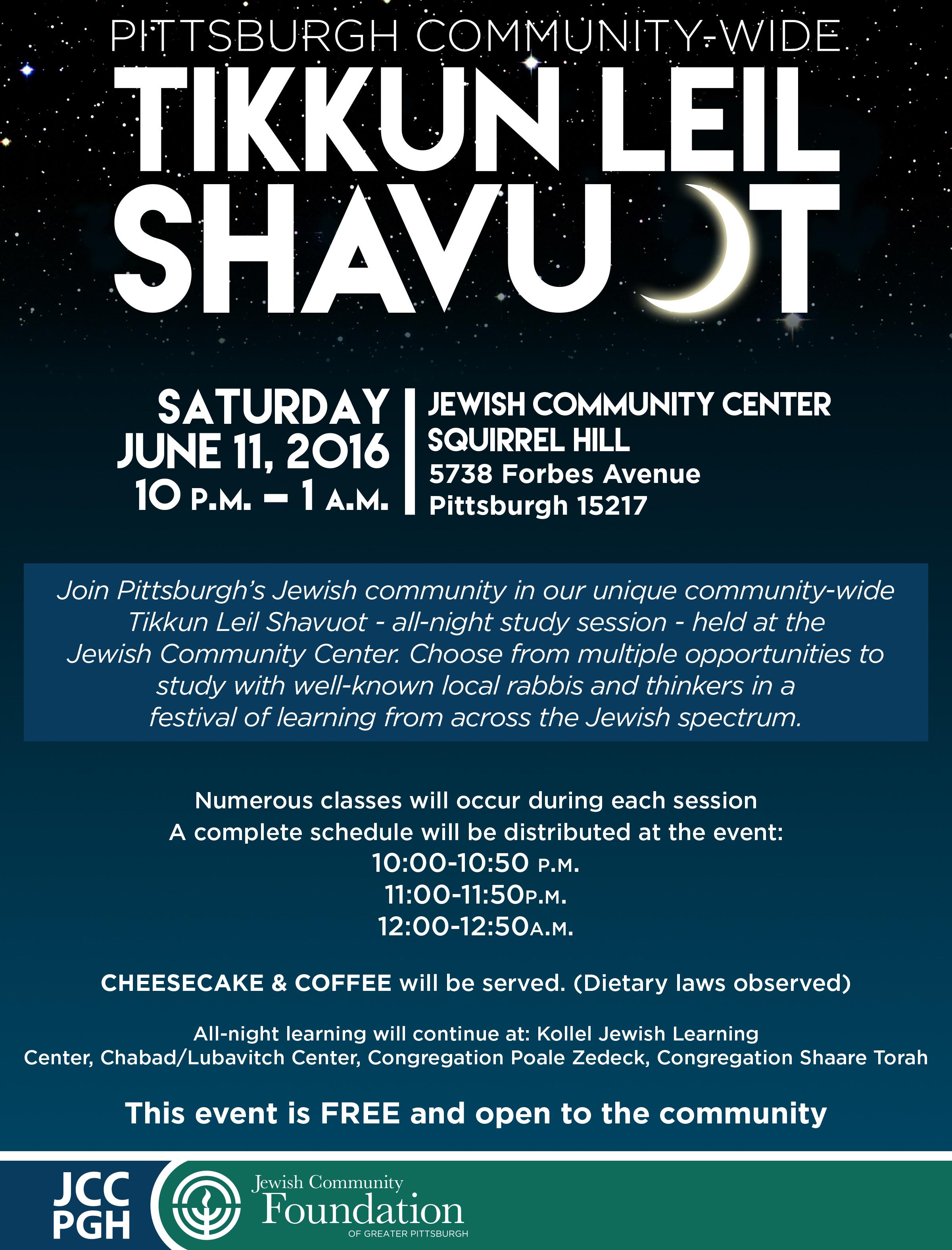 Shabbat Shalom Pittsburgh Federation