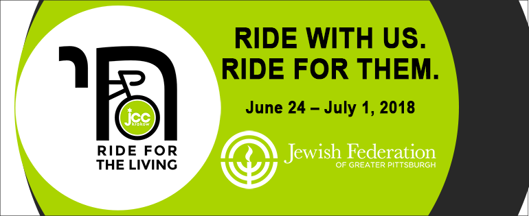 Ride for the Living   Jun 24 - July 1, 2018   from Auschwitz to JCC Krakow