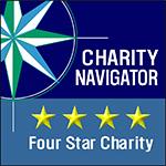 Charity Navigator 4 Star Rating