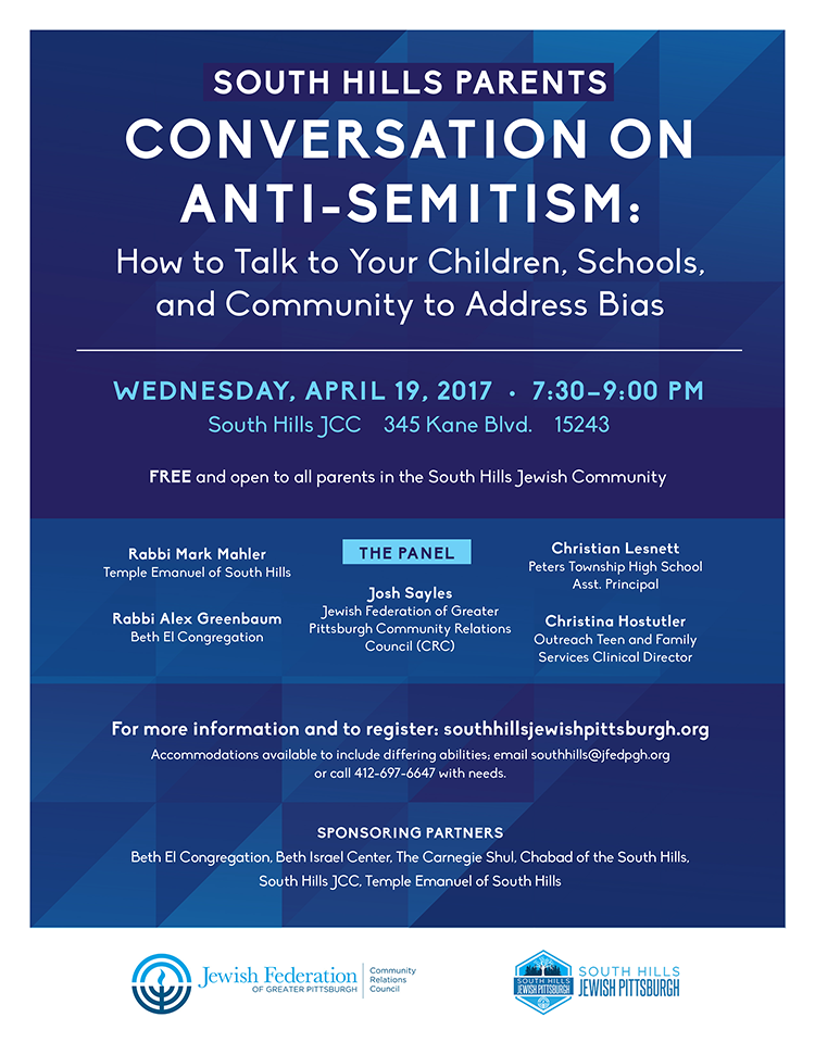 Conversation on Anti-Semitism