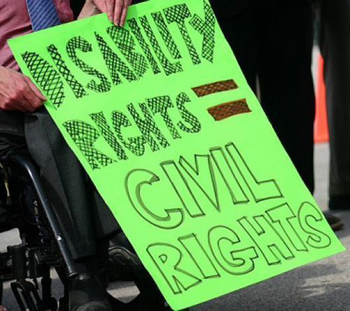 Disability Rights = Civial Rights