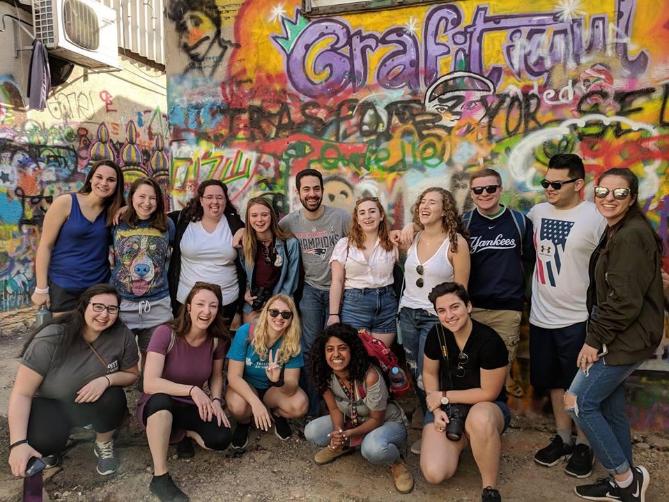 2018 Campus Ambassadors in Israel