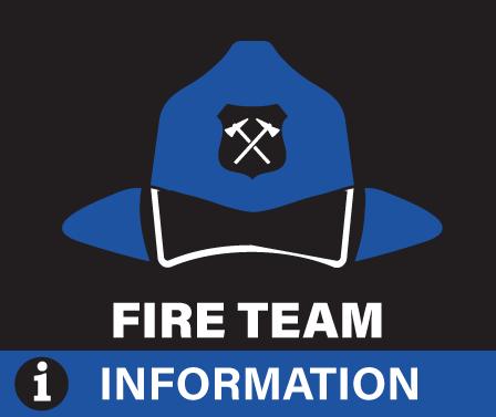 Fire Team Information