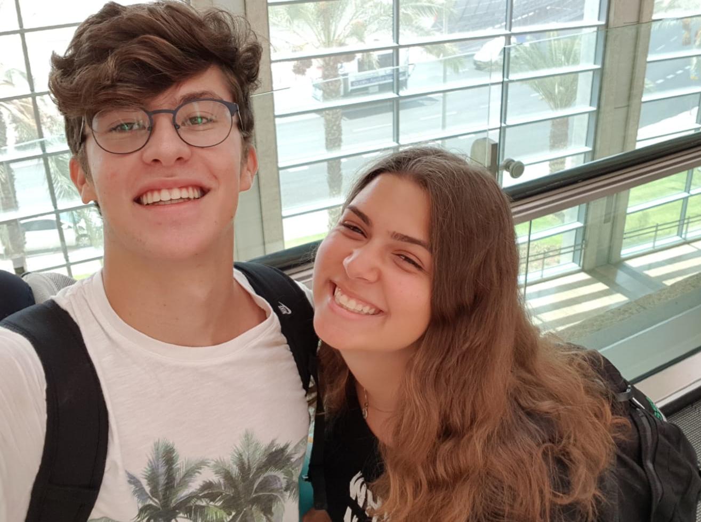 Raz Levin and Hadar Maravent