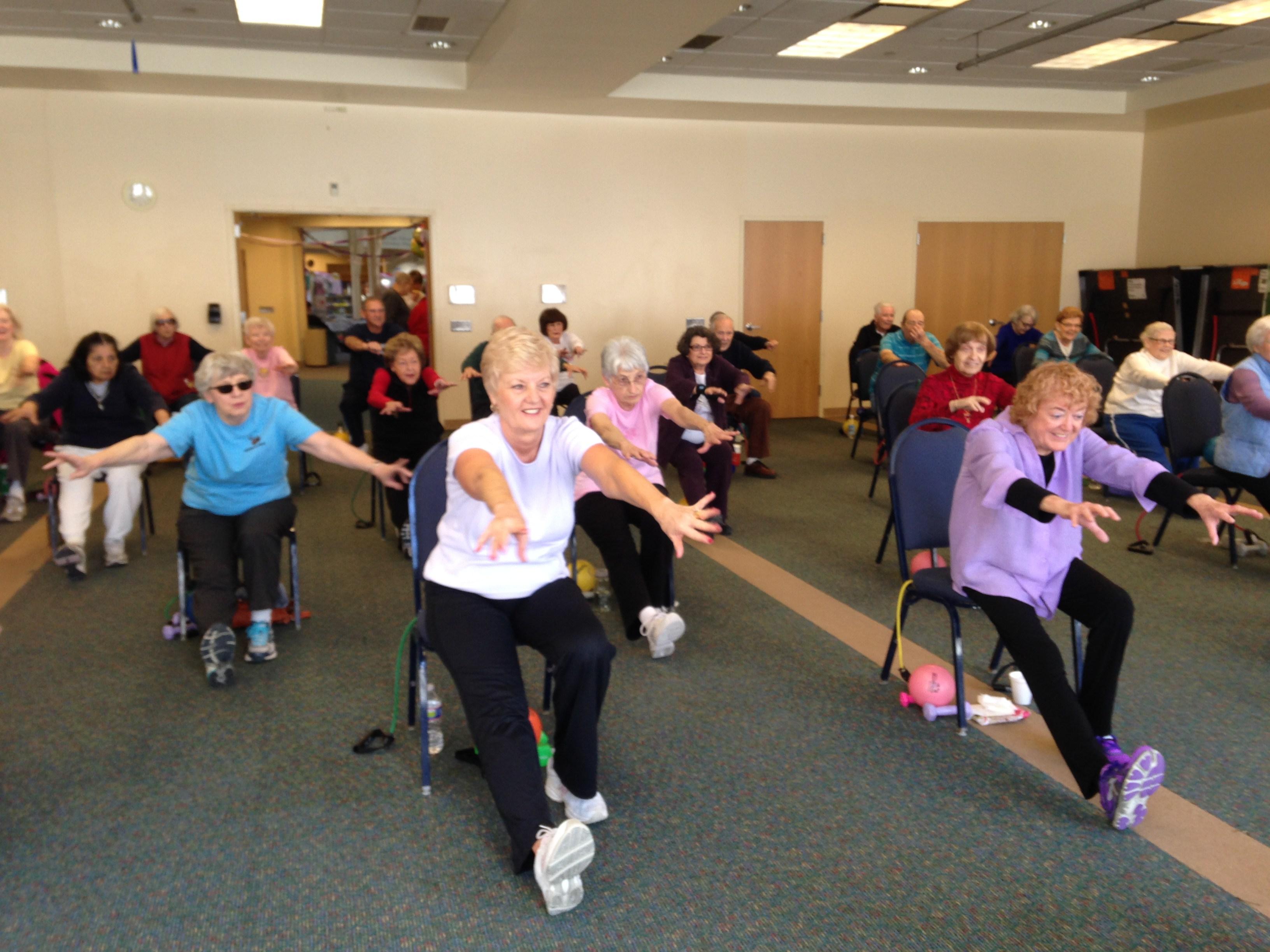 JCC senior fitness