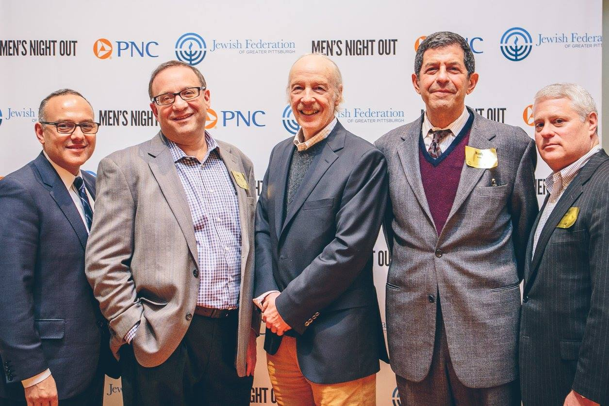Mens' Night out featuring ESPN Analyst Herm Edwards was the inaugural event for our Men's Philanthropy Division and newly formed Shofar Society.