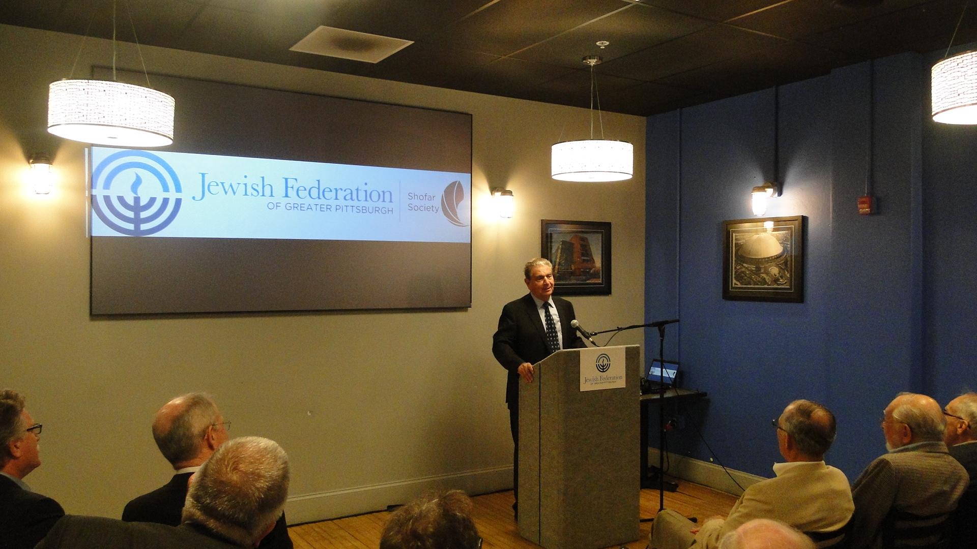 Guest Speaker Michael Bar-Zohar