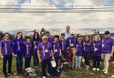 Volunteer Center Mission to Israel